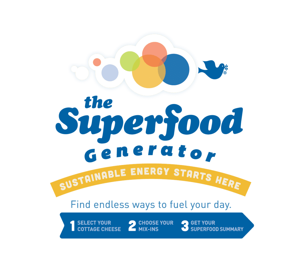 Check out the SuperFood Generator from Friendship Dairies.
