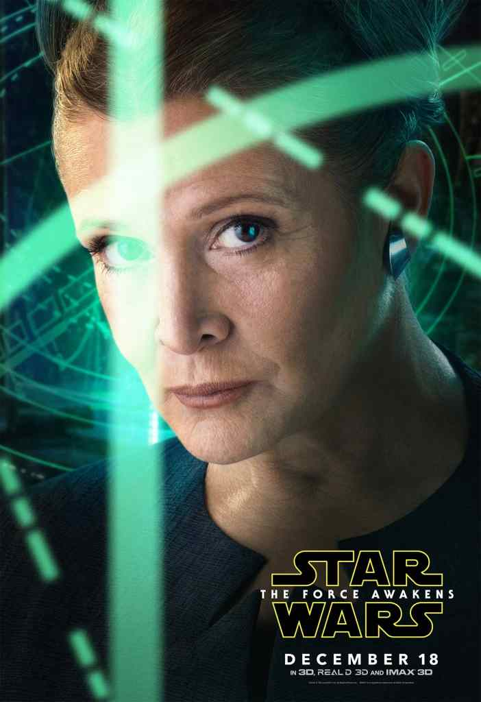 Leia Star Wars Poster! Star Wars: The Force Awakens in theaters 12/15/15