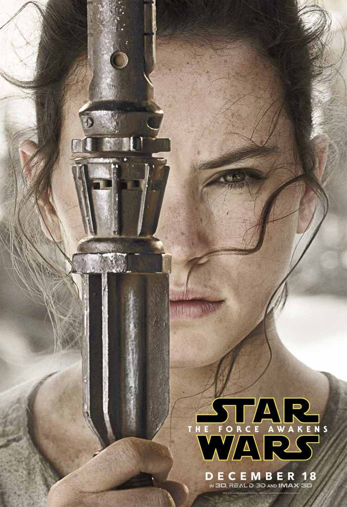 Rey Star Wars Poster! Star Wars: The Force Awakens in theaters 12/15/15