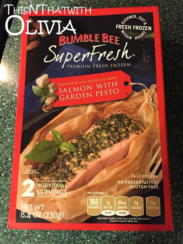 Bumble Bee SuperFresh Salmon with Garden Pesto