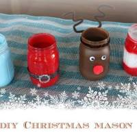 Christmas Mason Jars! #12daysof