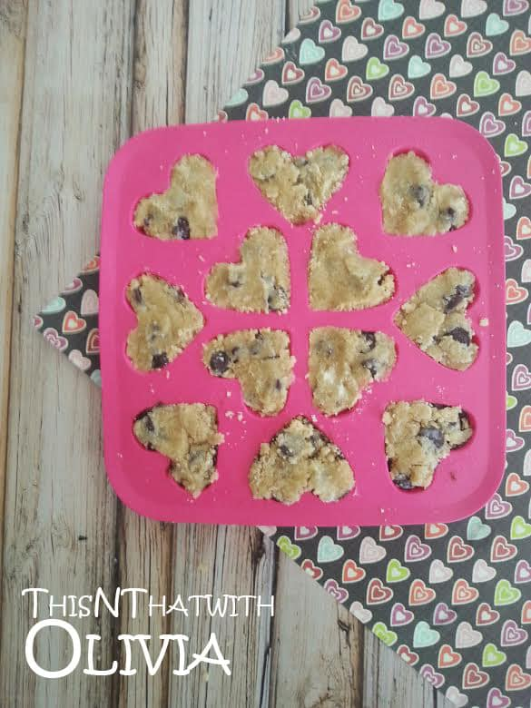 Cookie Dough Hearts