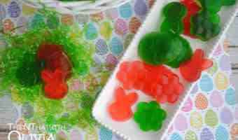Homemade Easter Gummy Candy! #12daysof