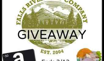 Win a $50 Amazon Gift Card + Gift Basket from Falls River Soap Company! #MomBuzz #ValentinesGift