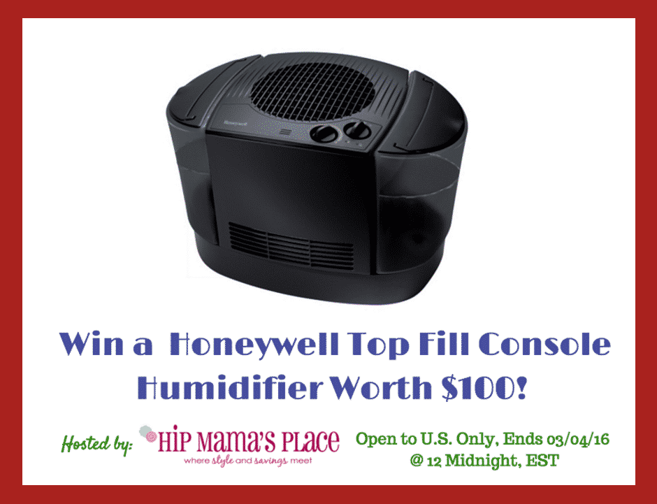 Win a Honeywell Humidifier