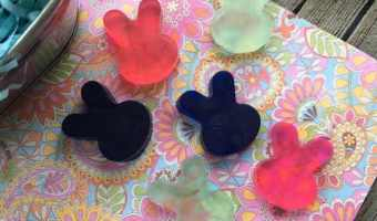 Mini Bunny Soaps for Easter! #Easter #DIY