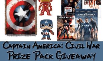 Win a Captain America: Civil War Prize Package (ARV $120) #CivilWar