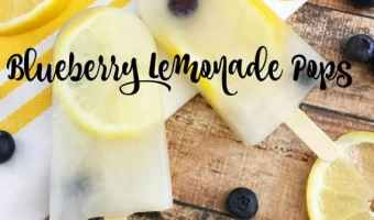Blueberry Lemonade Pops