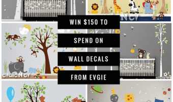 Win $150 to Evgie Wall Decals @Evgie #WallDecals