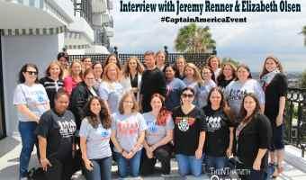 Interview with Jeremy Renner + Elizabeth Olsen