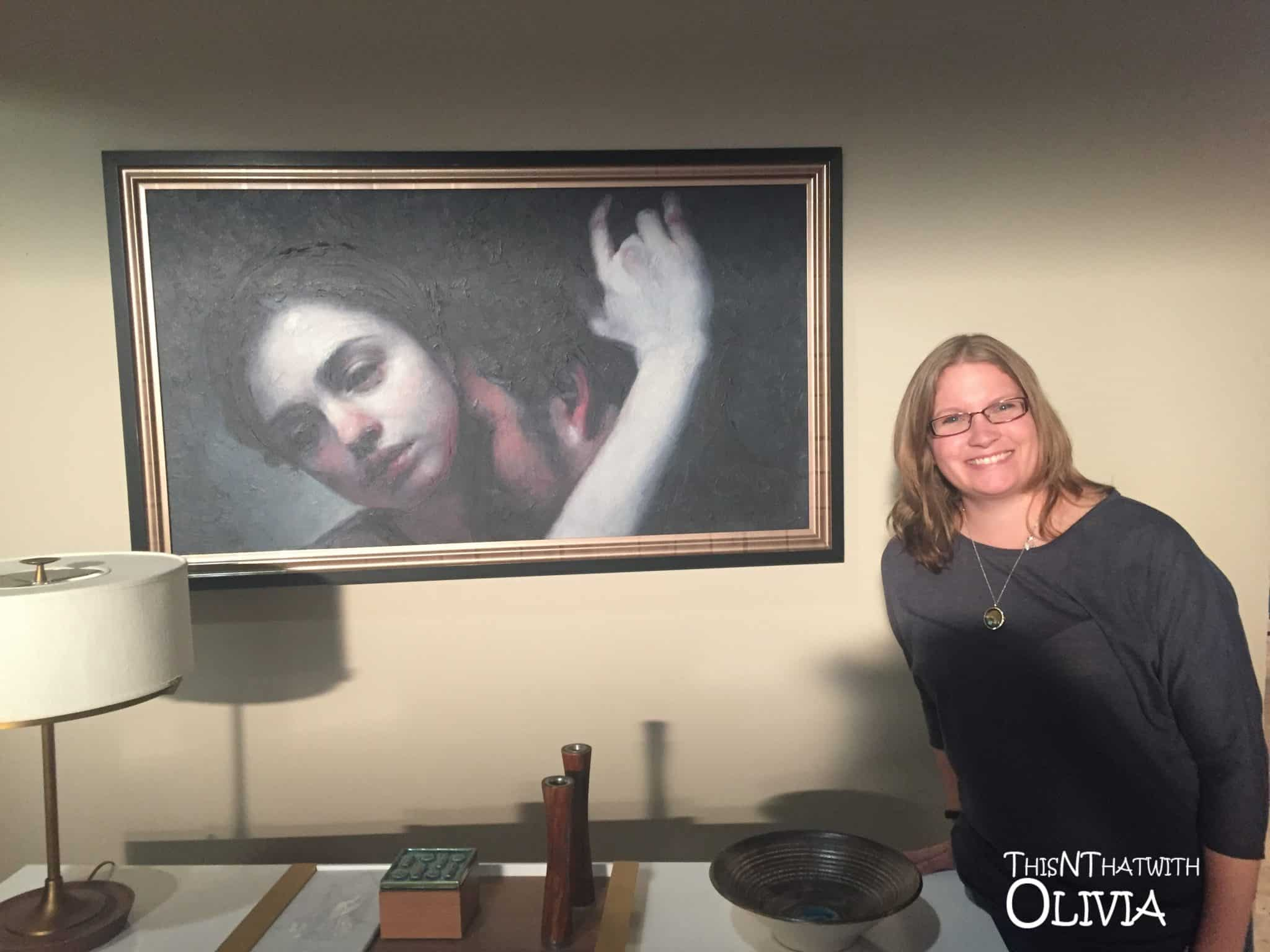 Maria Kreyn Picture on the set of The Catch