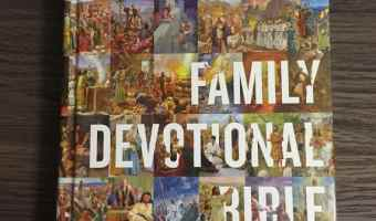 ESV Family Devotional Bible Review + Giveaway! #ESVFamilyDevotionalBible #flyby (Ends 5/23)