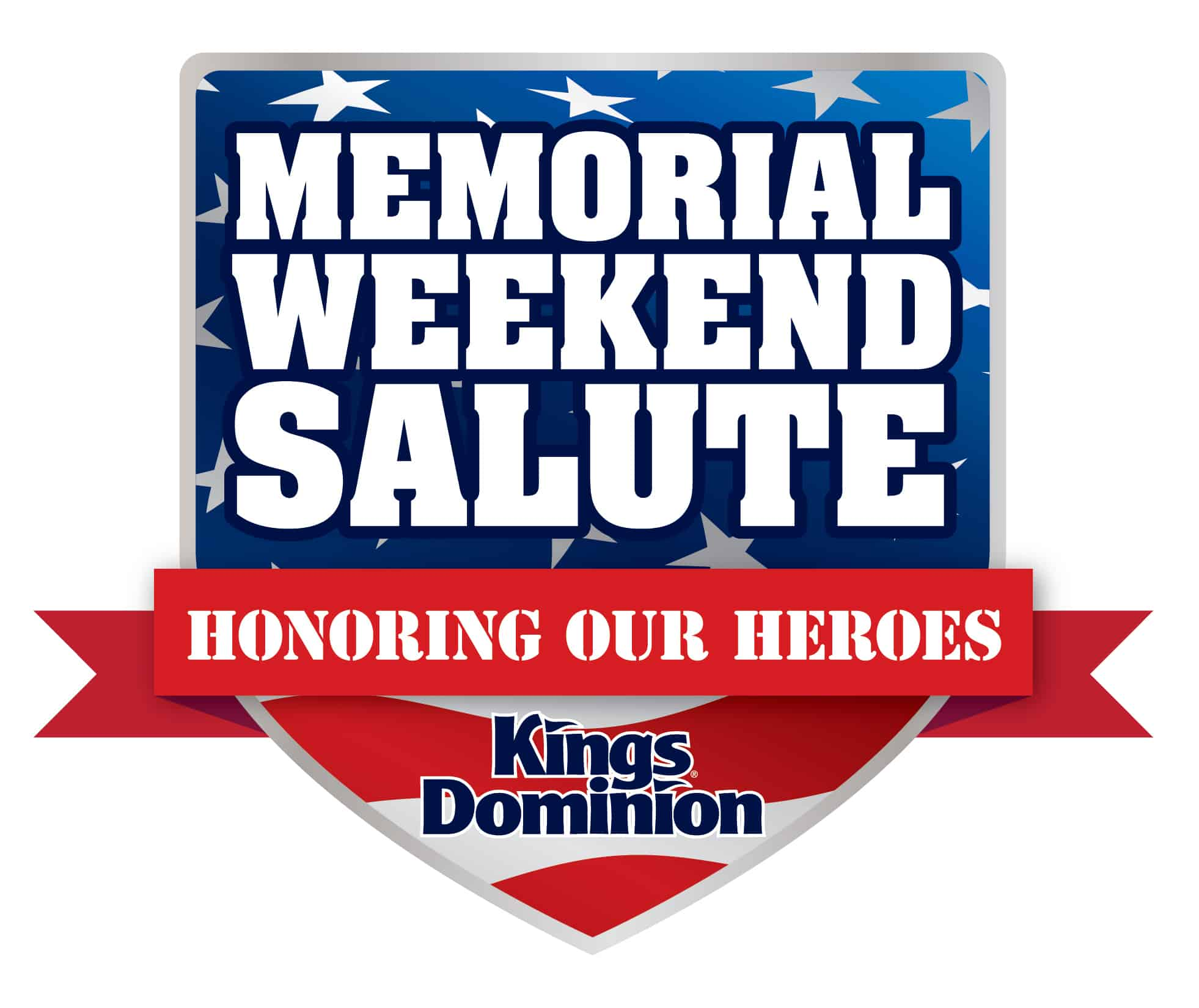 Memorial Day Weekend Salute at Kings Dominion