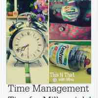 Time Management Tips for Millennials #CentrumFunFlavors #ad | ThisNThatwithOlivia.com