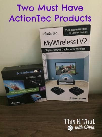Two Must Have Products from ActionTec | ThisNThatwithOlivia.com