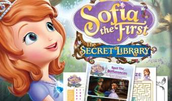 FREE Sofia the First Printable Activities