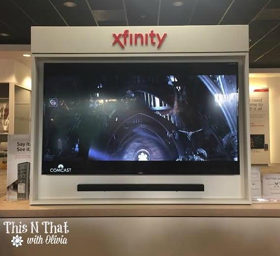 XFINITY X1 Demo @ComcastBeltway #Ad