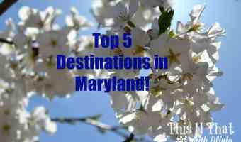 Top 5 Destinations in Maryland! #RoadTripOil #ad