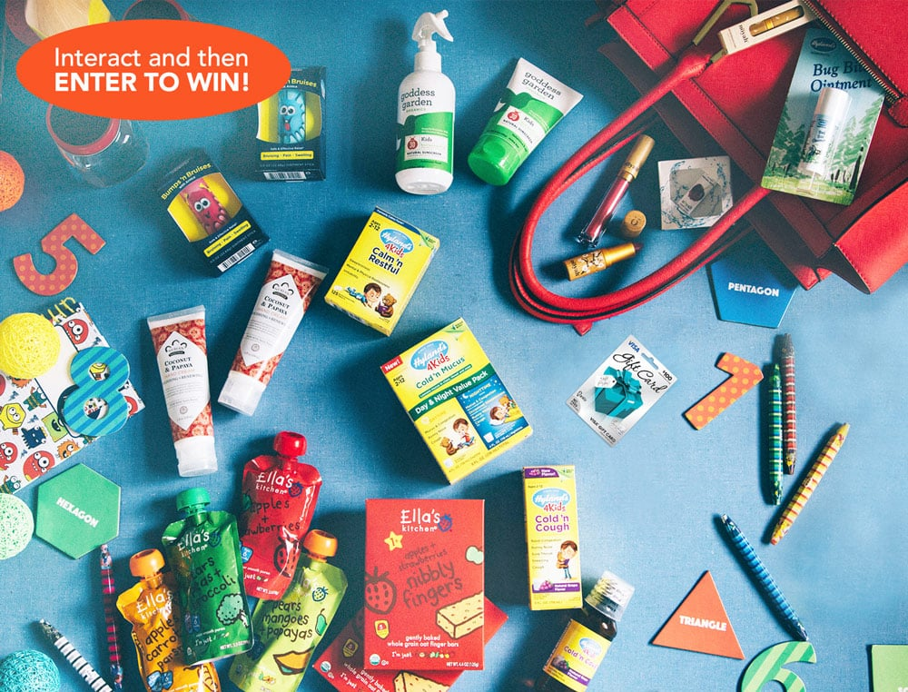 What's In Your Bag Promotion from Hyland's | ThisNThatwithOlivia.com