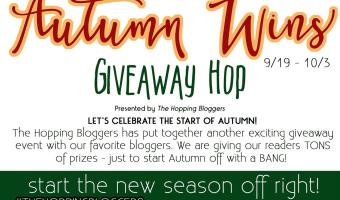 Autumn Wins Giveaway Hop | ThisNThatwithOlivia.com