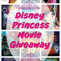 Disney Princess Movie Collection Giveaway | ThisNThatwithOlivia.com