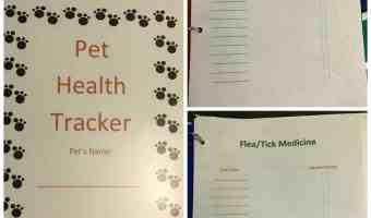 DIY Pet Health Binder #BestPawForward #ad