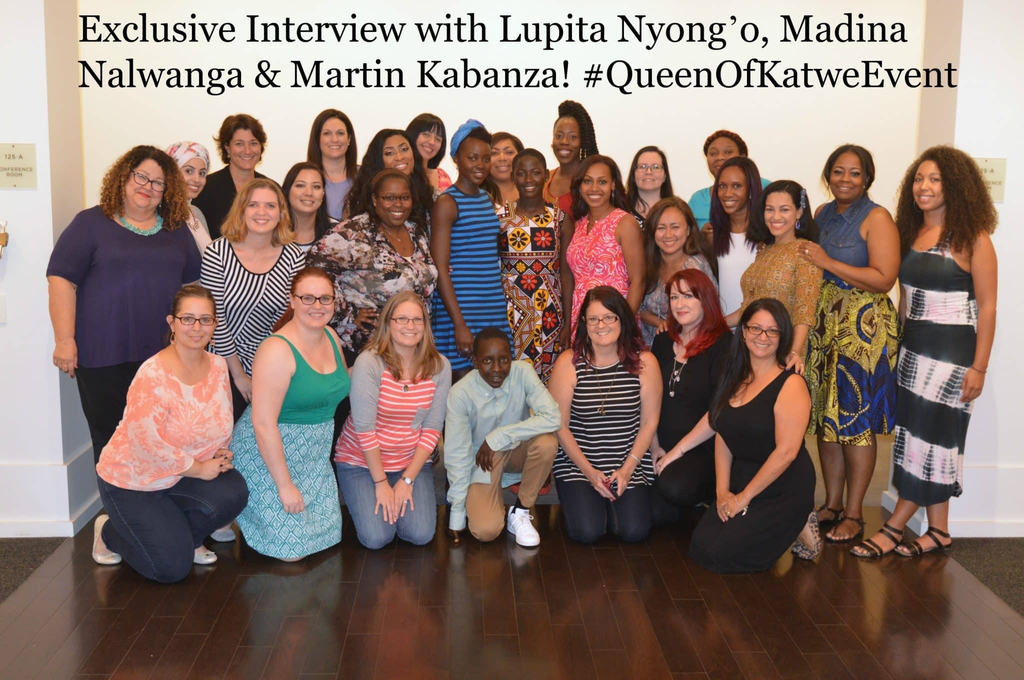 Interview with Lupita, Martin and Madina #QueenOfKatweEvent
