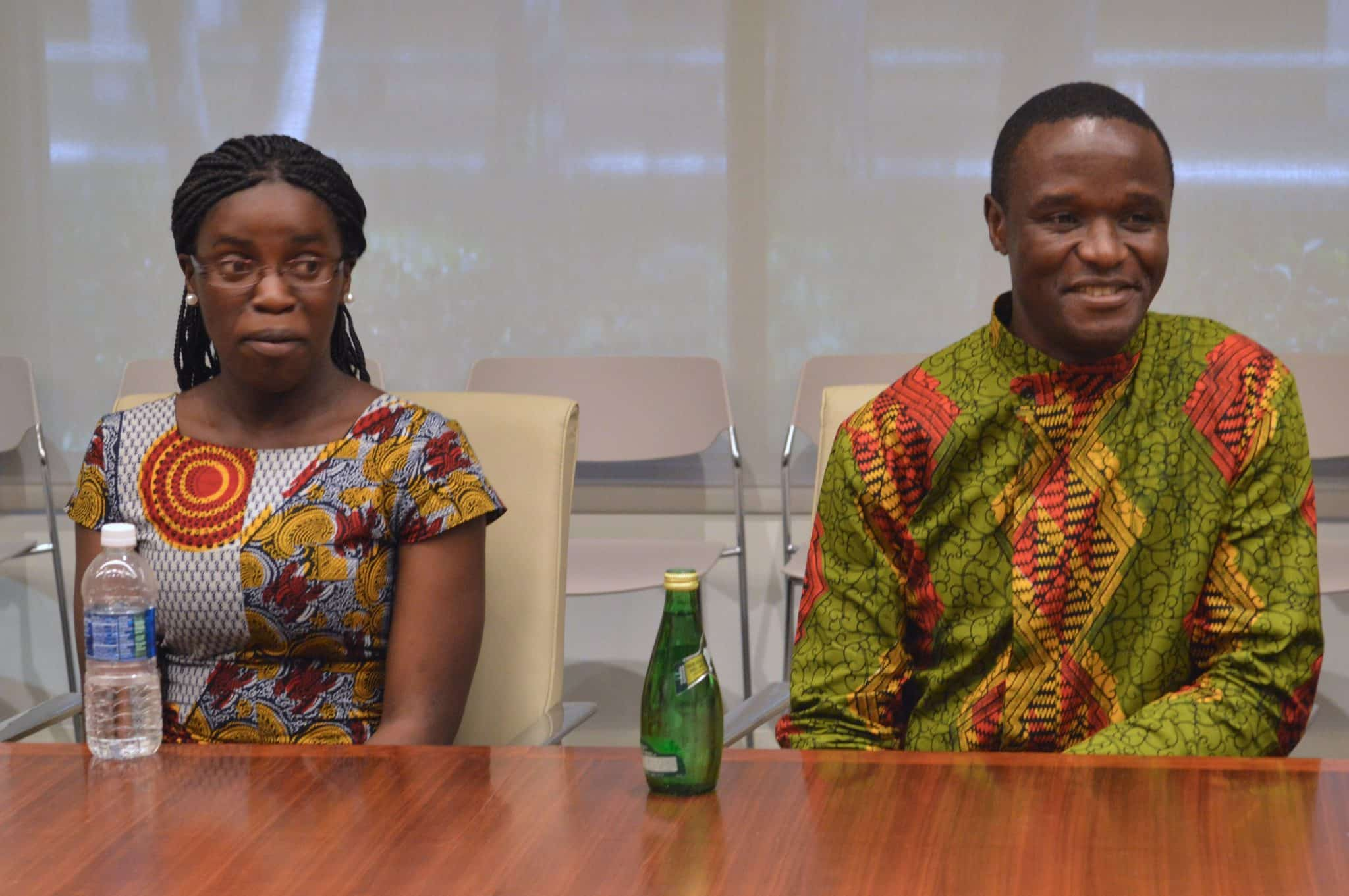 Interview with Phiona Mutesi + Robert Katende #QueenOfKatweEvent   ThisNThatwithOlivia.com