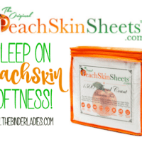 Enter to Win a Set of Peach Skin Sheets! #2016HGG @PeachSkinSheets