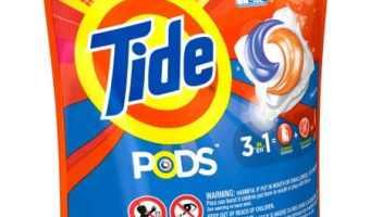 FREE Tide Pods 16 Count (after Cash-Back)! #Free #TopCashBack