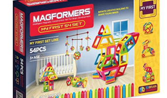 Amazon: Magformers My First 54 Piece Magnetic Construction Set only $52.88 Shipped (Regular $99.99)!