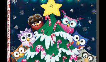 Enter to win Owlegories Christmas + Stuffed Animal! @Owlegories