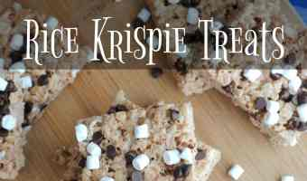 Hot Cocoa Rice Krispie Treats!