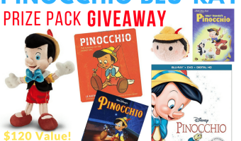 Enter to win a Pinocchio Prize Pack Ends 2/10 #PinocchioBluray #TheHoppingBloggers