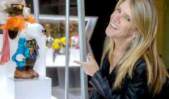 Exclusive Interview with Jill Schulz + Melissa Menta about the Snoopy and Belle In Fashion Exhibit