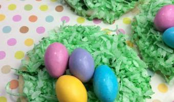Easter Egg Cookies #12DaysOf