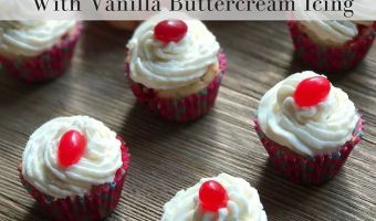 Jelly Bean Cupcakes with Vanilla Buttercream #12DaysOf