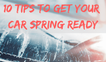 10 Steps to Get Your Car Ready for Spring! #FRAMFreshBreeze