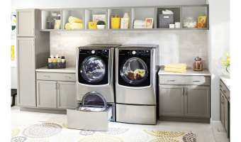 LG Front Load Laundry Machines at Best Buy! @BestBuy @LGUS #ad