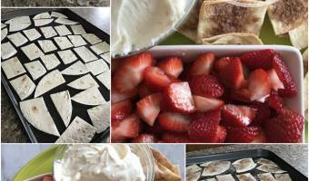 Strawberry Nachos Recipe #12daysof