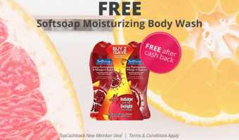 FREE Softsoap Body Wash (after cash back)!!!