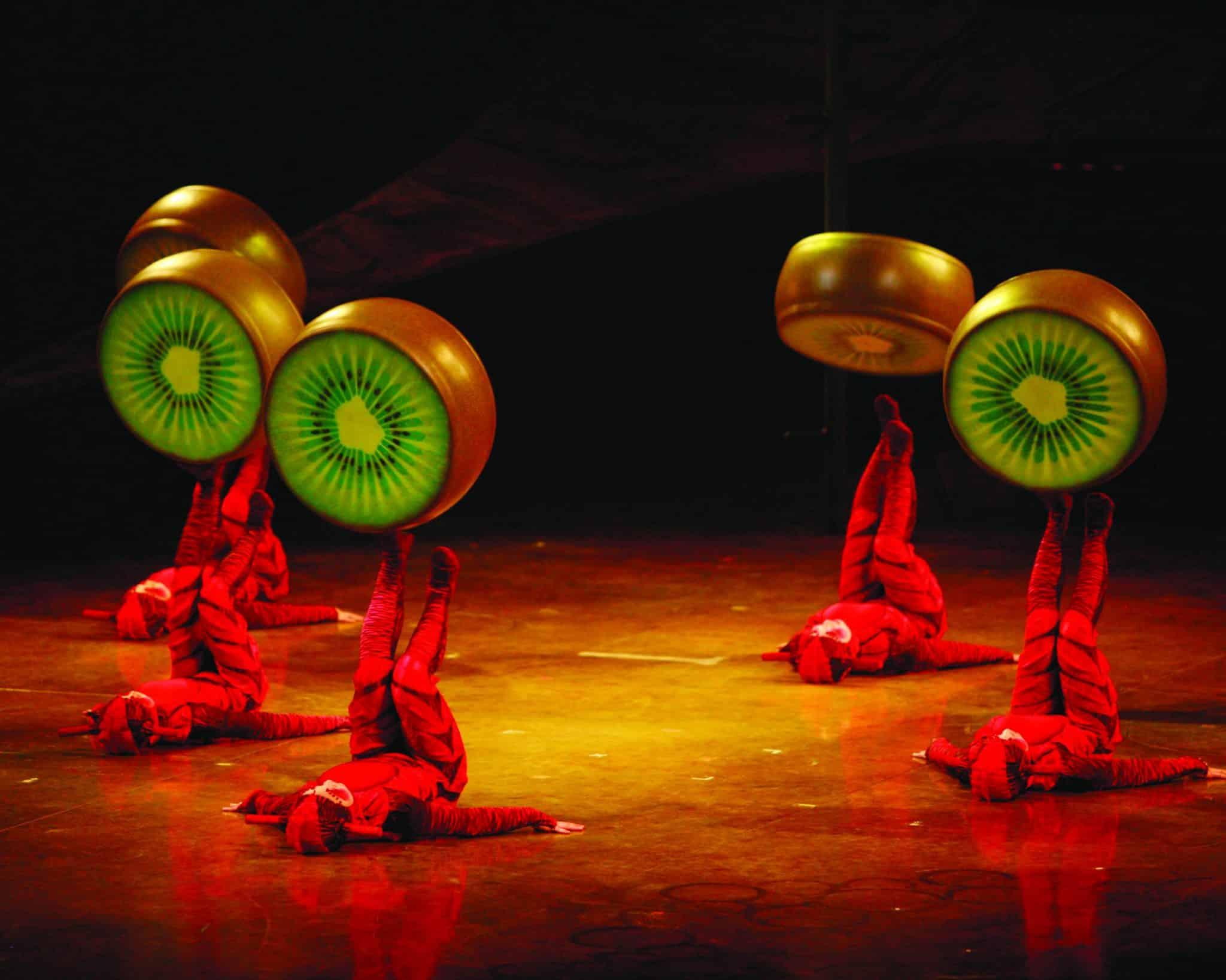 Cirque du Soleil Comes to Fairfax Eaglebank Arena @USFG #ovo
