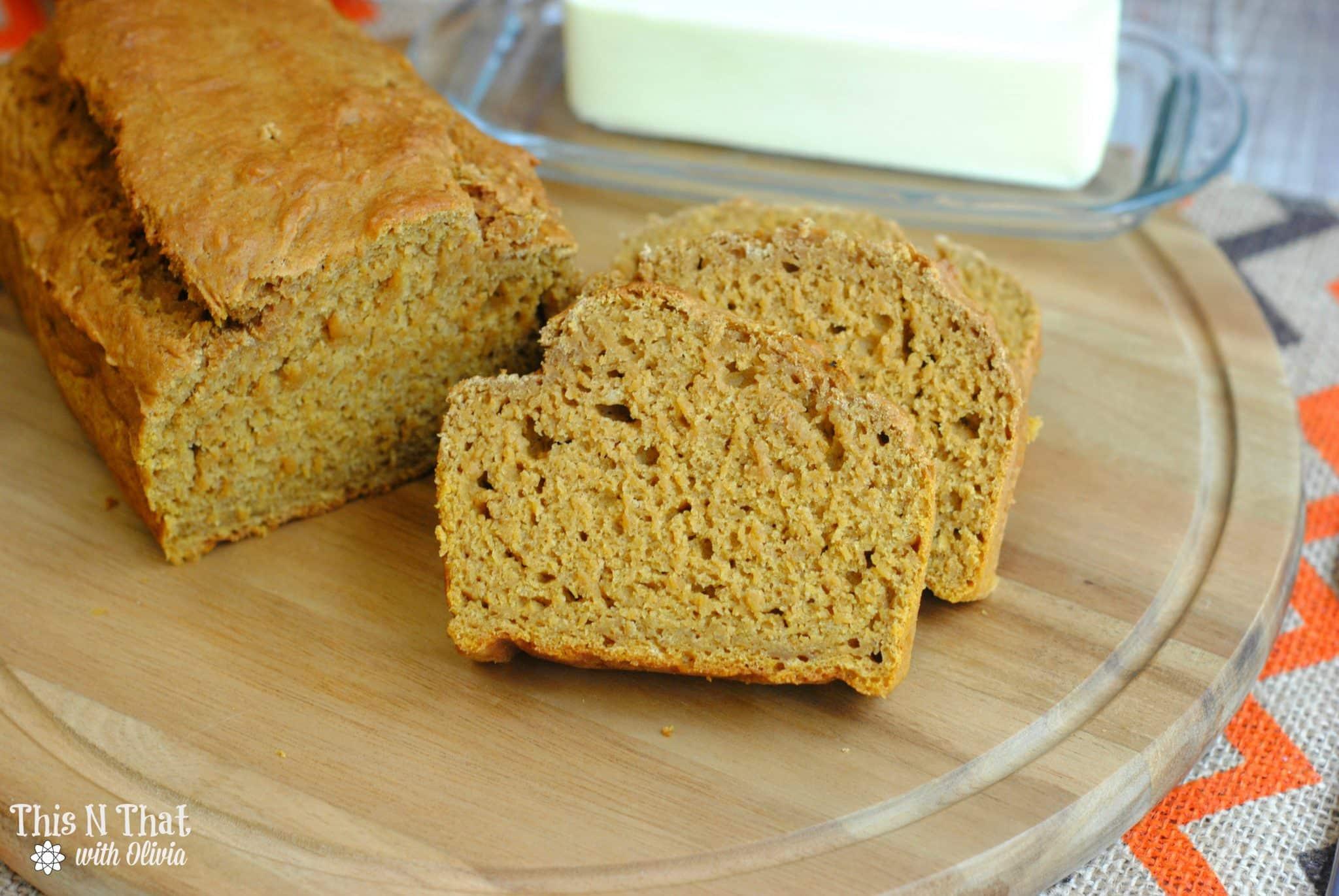 Homemade Pumpkin Bread #Fall #Pumpkin #Bread