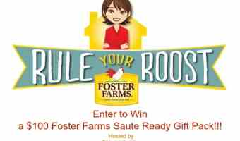 Win $100 in Foster Farms Coupons! #Mrskking #FosterFarms
