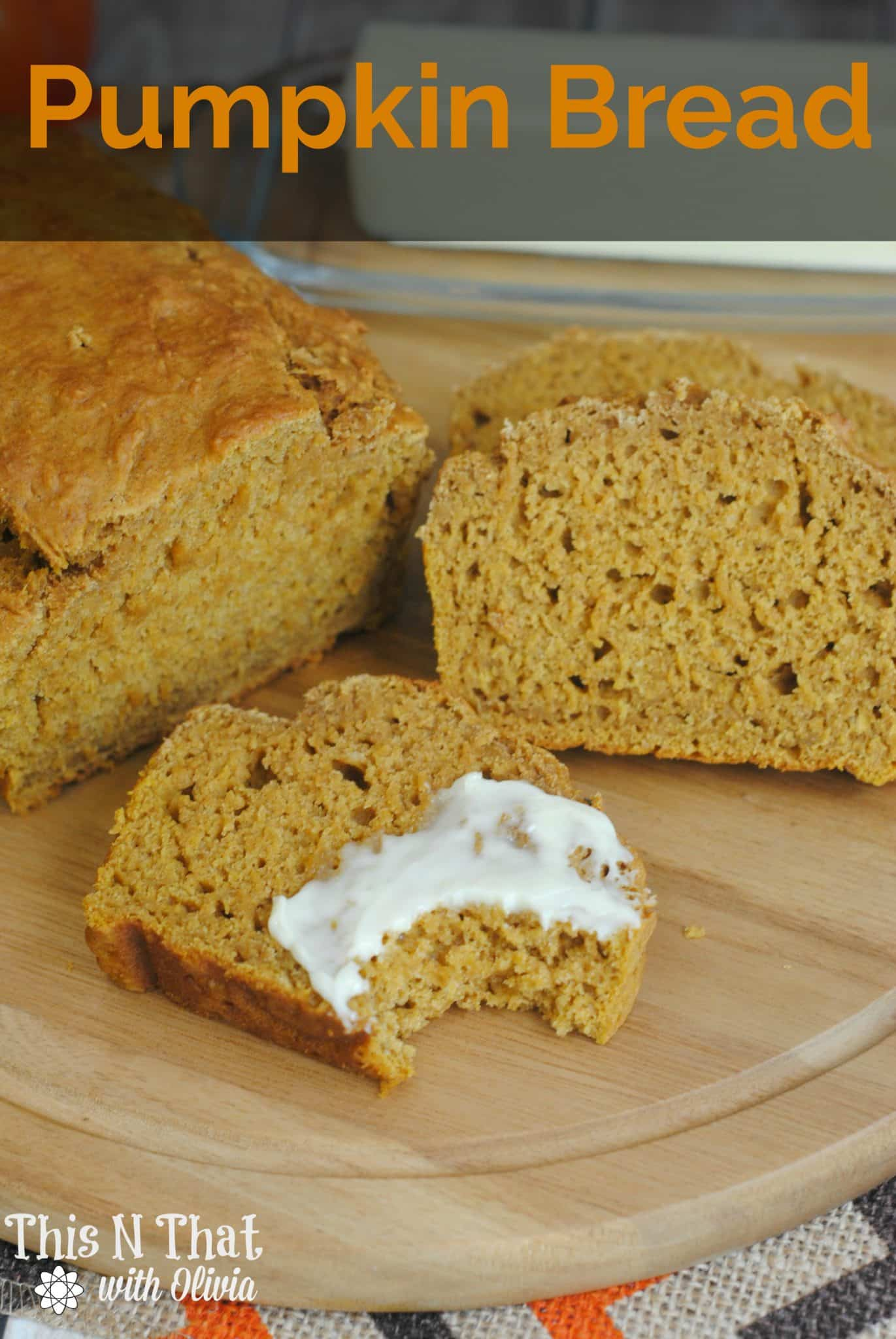 Homemade Pumpkin Bread #Fall #Pumpkin #Bread