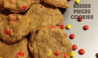 Reeses Pieces Cookies #ChristmasSweets