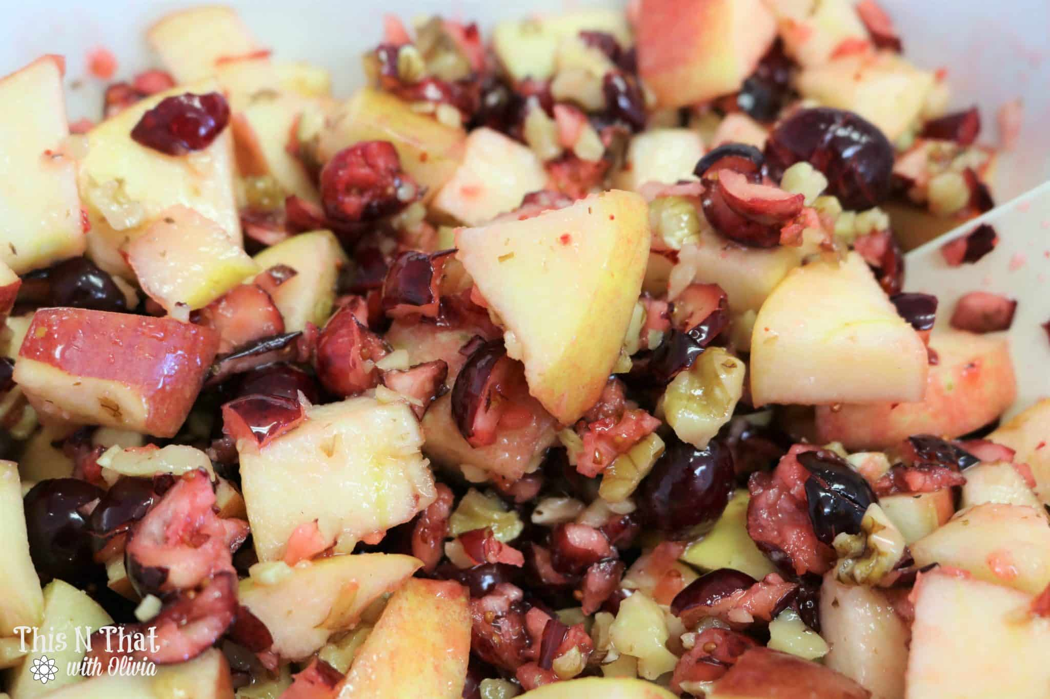 Holiday Cranberry Salad Recipe + Tutorial