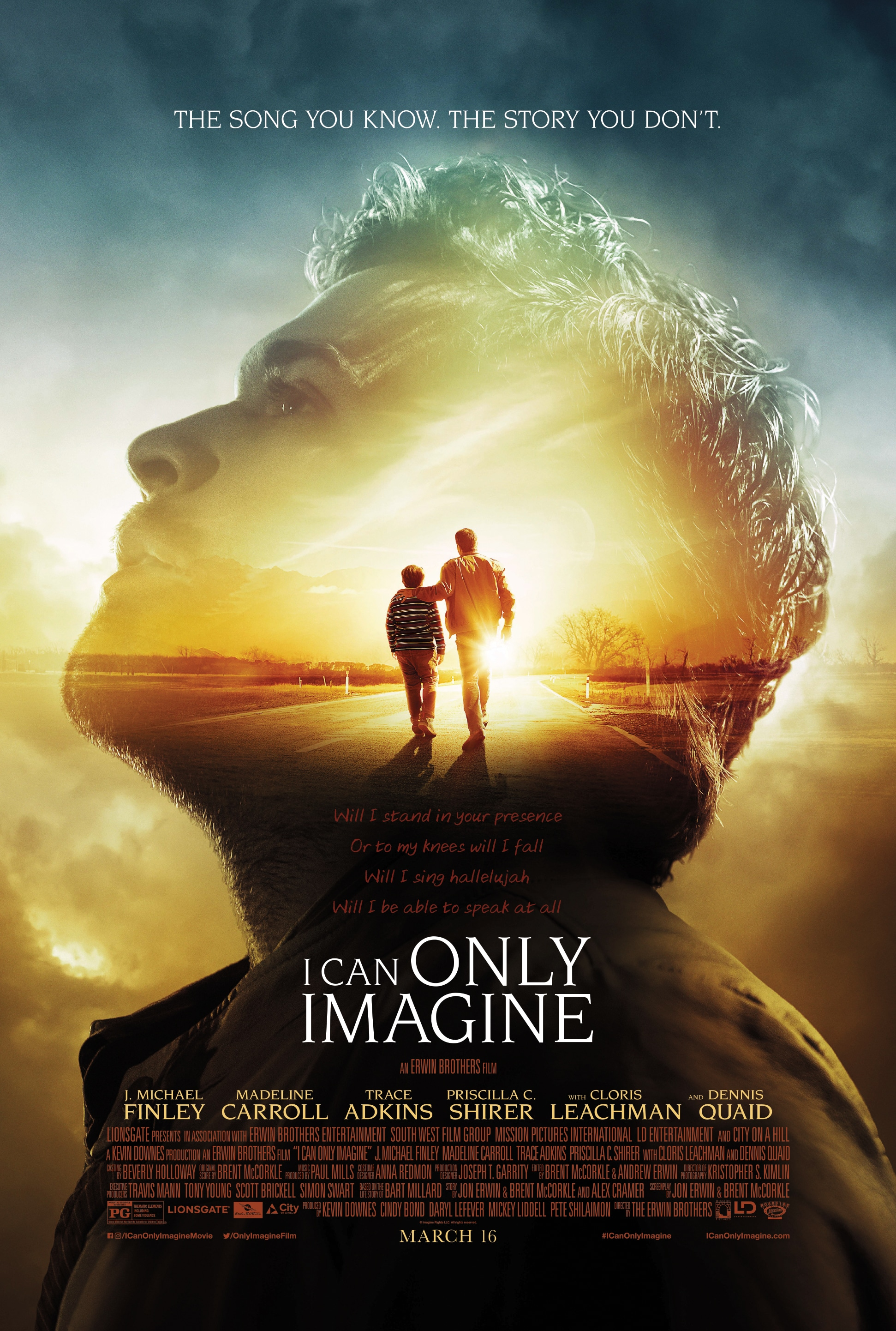 I CAN ONLY IMAGINE  in Theaters Nationwide March 16, 2018 #ICanOnlyImagine