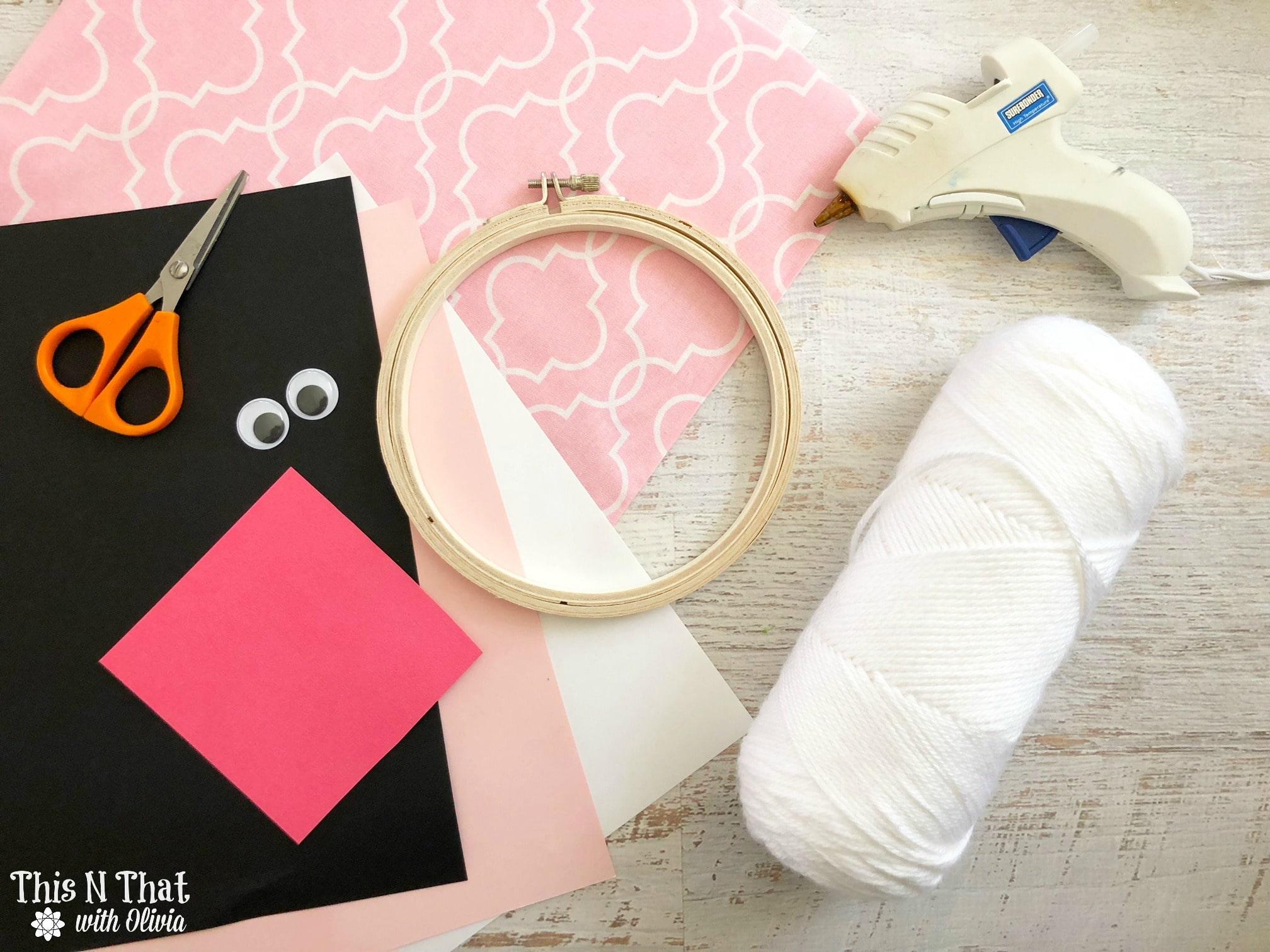 DIY Bunny Loop Craft for Easter!