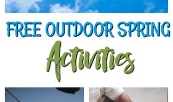 FREE Outdoor Spring Activities